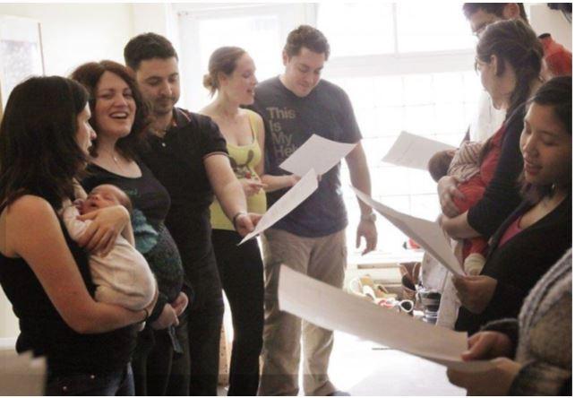 Chant parent enfant