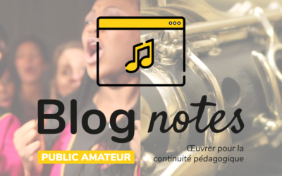 Blog notes — Public amateur | Fiches #3