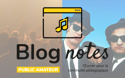 Blog notes — Public amateur | Fiches #2