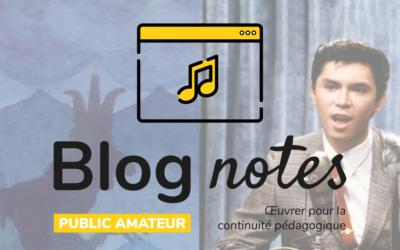 Blog notes — Public amateur | Fiches #6