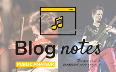 Blog notes — Public amateur | Fiches #9